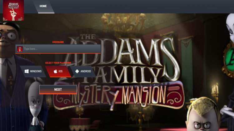 Addams Family Mystery Mansion Cheats