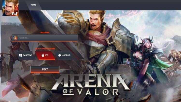 Arena Of Valor Hack Vouchers