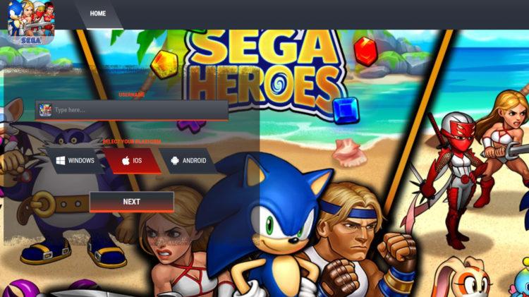 SEGA Heroes Cheats