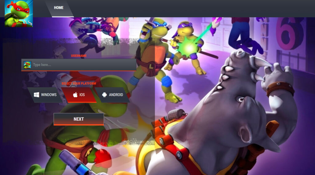TMNT Mutant Madness Hack Mod Unlimited Gems Android-iOS