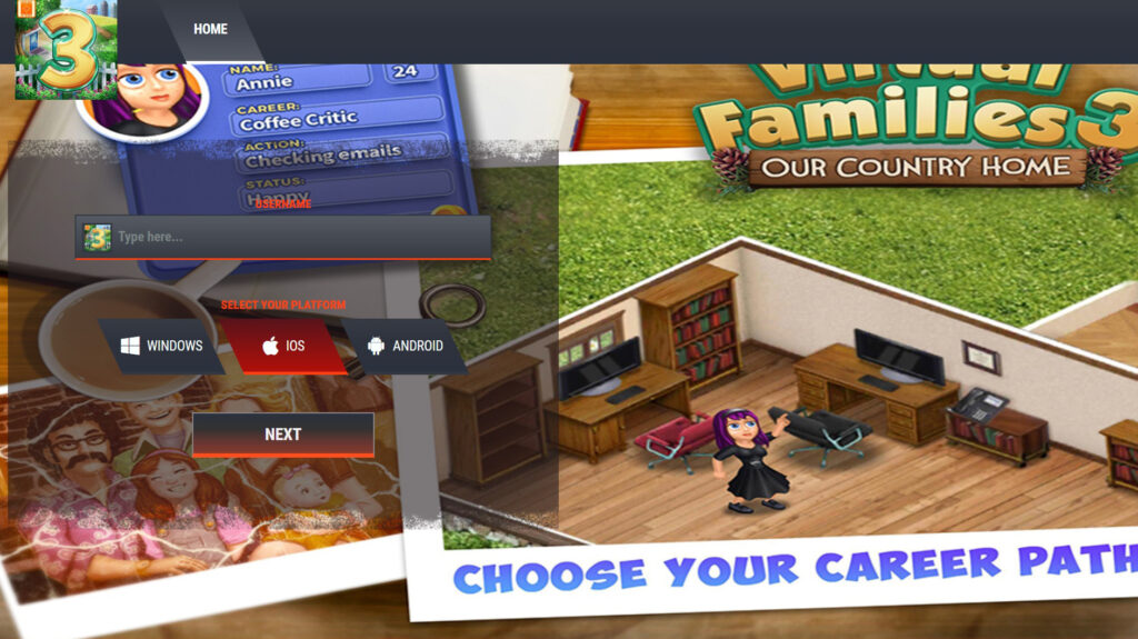 Virtual Families 3 Cheats unlimited Coins mod