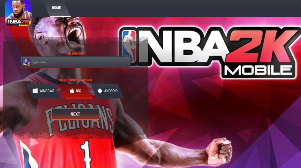 NBA 2K Mobile Mod Hack Gold
